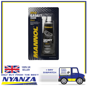 Mannol-Black-RTV-Silicone-Instant-Gasket-85G-Cars-Van-Bikes-Engines-Seal-Bond