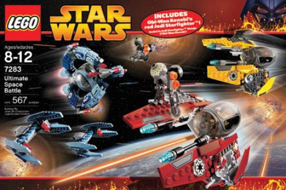 Heng aime Noël, la la la chaleur du coeur RARE Lego Star Wars Ultimate Space Battle 7283 51880c