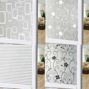 Details About 200x60cm Bedroom Bathroom Home Gl Window Privacy Film Sticker Pvc Frosted