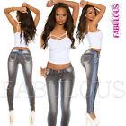 Sexy Skinny Leg Cut Women's Stretch Jeans Denim Size 6 8 10 12 14 XS S M L XL