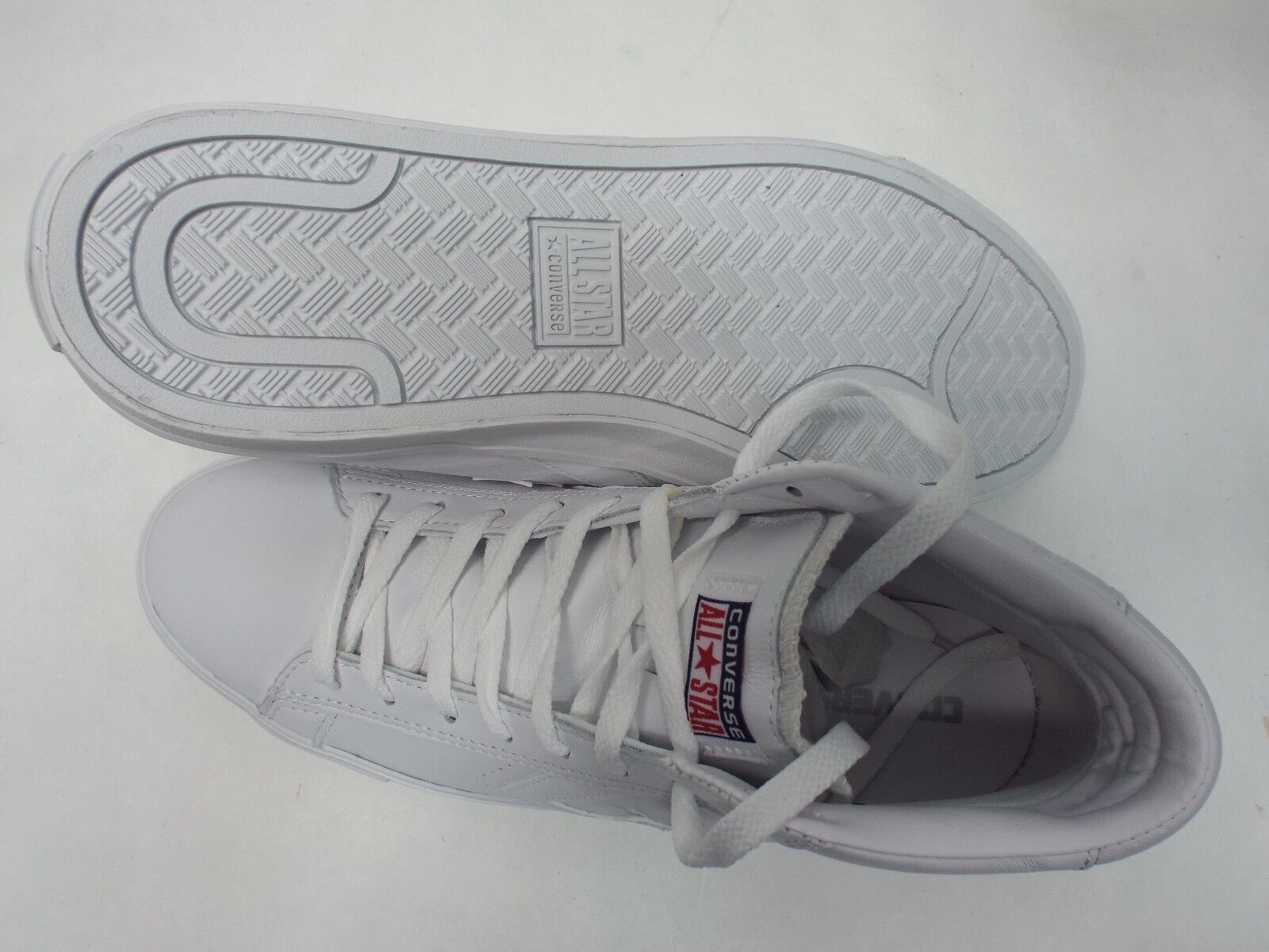 New hommes 11 Converse Star Player Chaussures Pro Leather Mid blanc Chaussures Player 136764C 65 1a285d