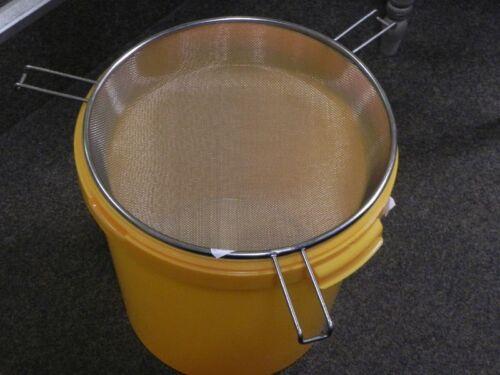 Honigsieb Grande,SIPA,Edelstahl,36 cm Durchm.Imker,Imkerei,Honig sieben,honey
