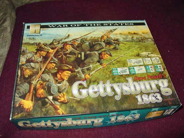 Avalanche Press - Gettysburg 1863 - Guerra degli Stati gioco (UNPUNCHED) Extra