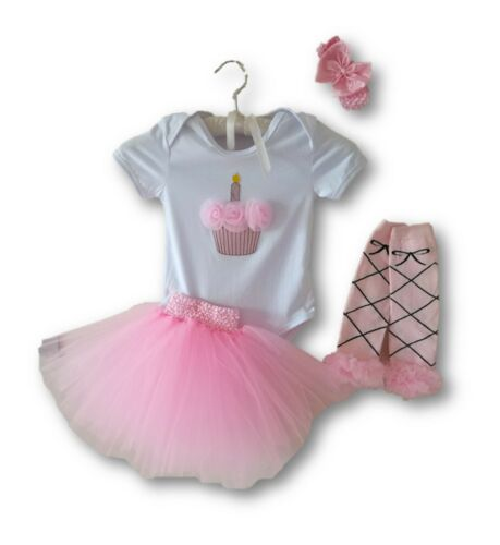 Tutú de bebé de niña conjunto traje 1st cumpleaños regalo de princesa de fiesta Vestido Disfraz