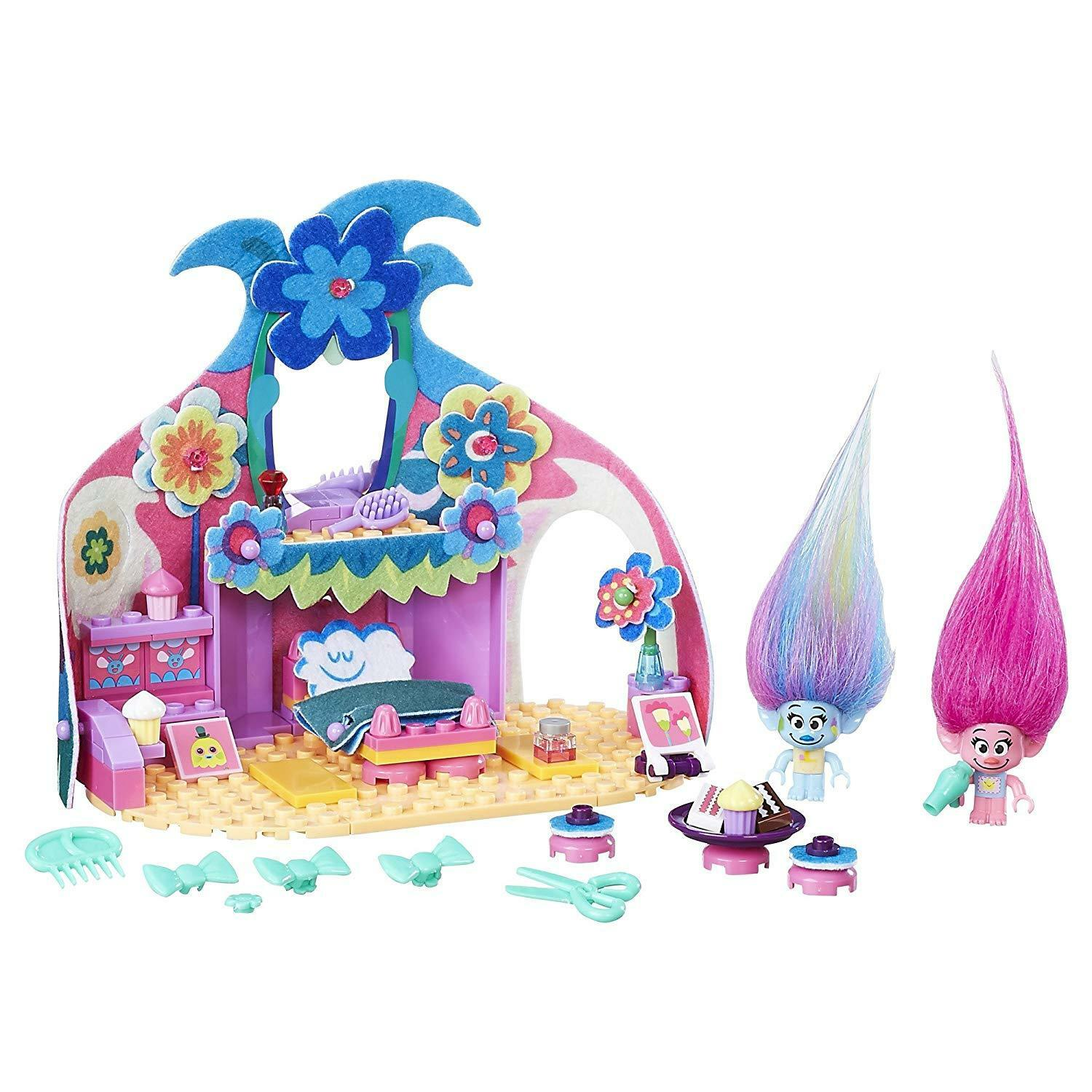 Trolls DreamWorks Poppy Happy Pod Playset Ages 6+ Toy Play Play Play Doll House Party Gift 675944