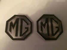 MG Badge Front Grille and rear boot badges 70mm with lug holes for MG TF LE  500