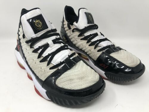 Mens Nike LeBron 16 XVI Remix White Red Basketball