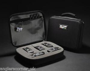 Delkim-Black-Box-Storage-Case-Bite-Alarm-Accessories-Fishing