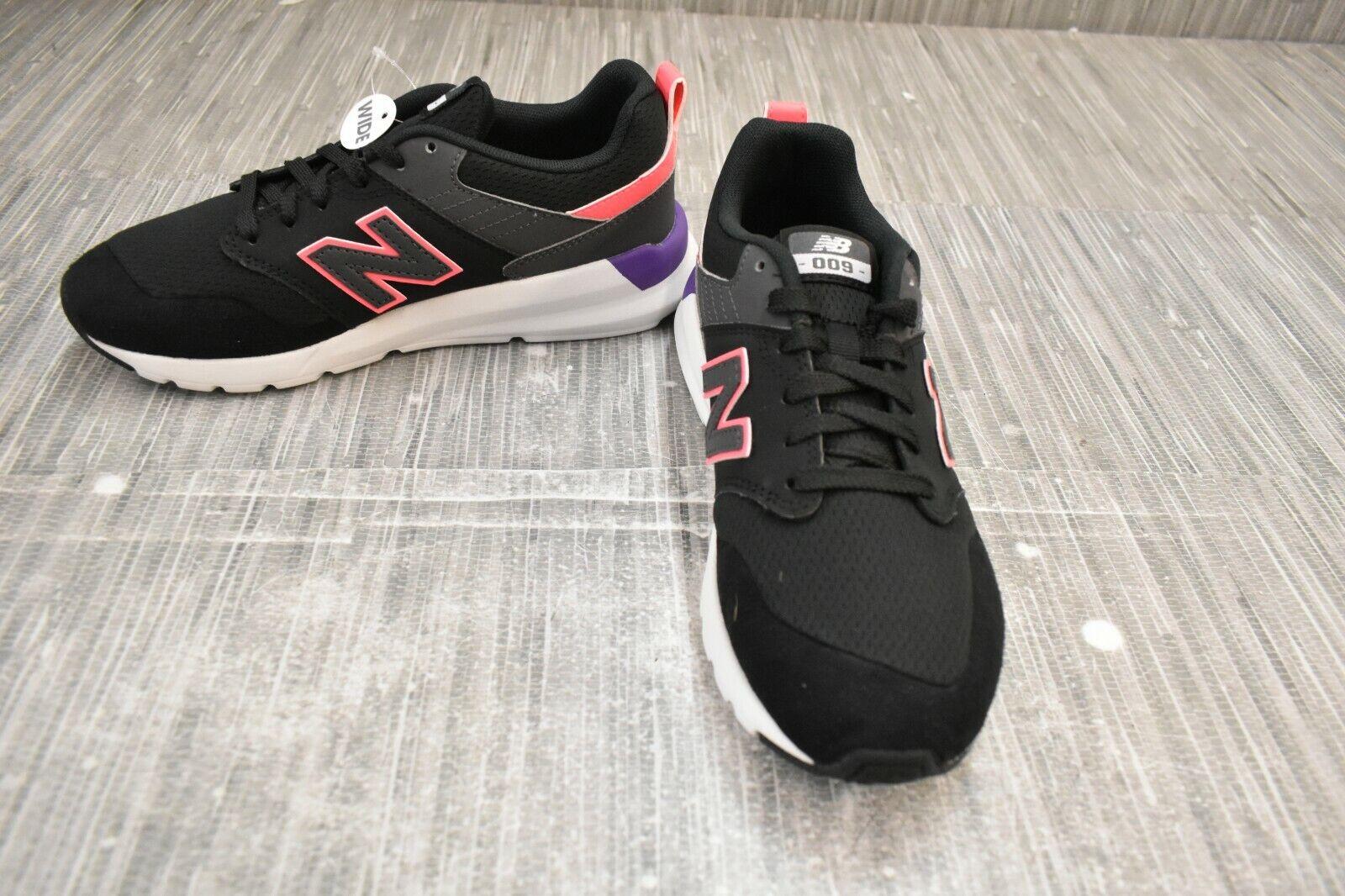 ** NEW BALANCE 009v1 WS009LA1 Chaussures de sport, femme taille 5D, Noir Nouveau