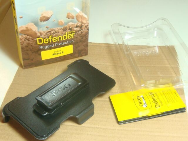 new iPhone 6 otter box defender belt clip black