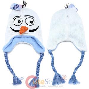 0e96cabd5f4 Disney Frozen Olaf Face Laplander Beanie Elsa Anna Friends Snowman ...