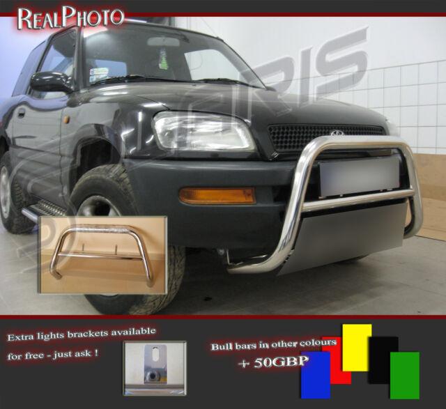 TOYOTA RAV4 RAV 4 MK1  BULL BAR, NUDGE BAR, A BAR + GRATIS!!! STAINLESS STEEL