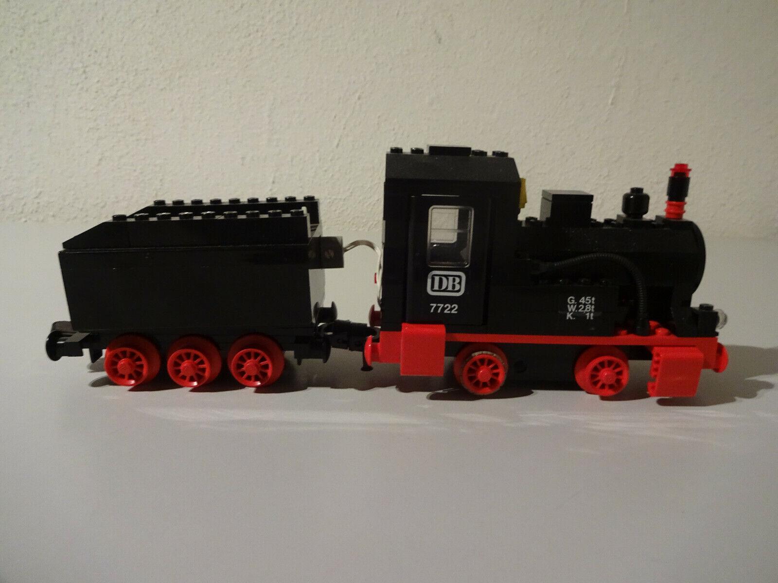 El Estado de la parte súperior de la locomotora de vapor 4,5 V 7722 no se ha probado.
