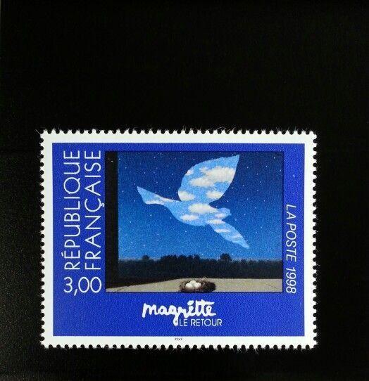1998 France The Return by Rene Magritte Scott 2637 Mint