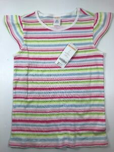 916200c67bc7f Image is loading Gymboree-Girls-Pink-Green-Blue-White-Spring-Striped-