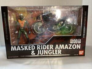 Super Imaginative Chogokin Vol. 21 Masked Rider Amazon & Jungler Bandai 2007 SIC