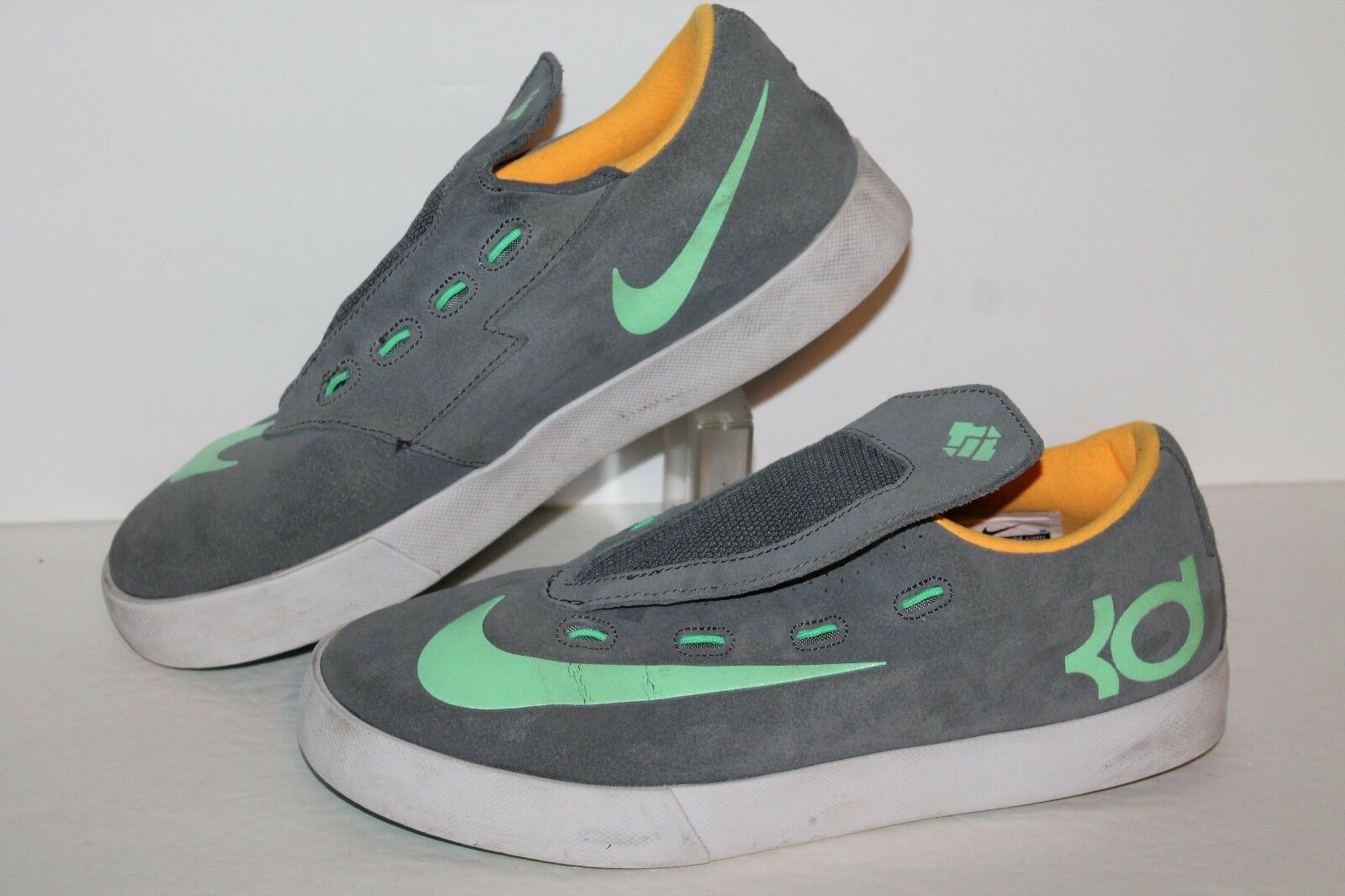 NIke KD Vulc Casual Sneakers, Grey/Sea Green, Men's 5.5 / 5.5 Youth  The latest discount shoes for men and women