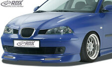 RDX Frontspoiler SEAT Ibiza 6L / Cordoba 6L Front Spoiler Lippe Vorne Ansatz