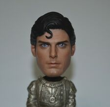"""Hot Toys 1/6 1978 edition Superman Christopher Reeve HEAD sculpt F 12"""" Doll"""