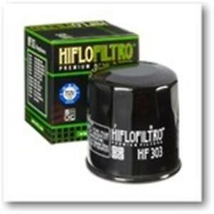 En Herbe Honda Vfr F-800 Cc 2000-2001 Rc46 Filtre A Huile Hiflo Hf303 Noir