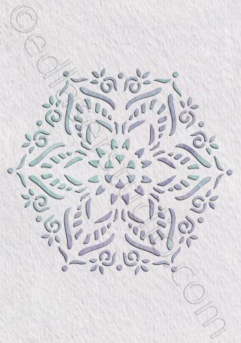 Doily Lace Mandala Stencil Vintage Shabby Chic Wedding  Furniture Craft Wall DL9