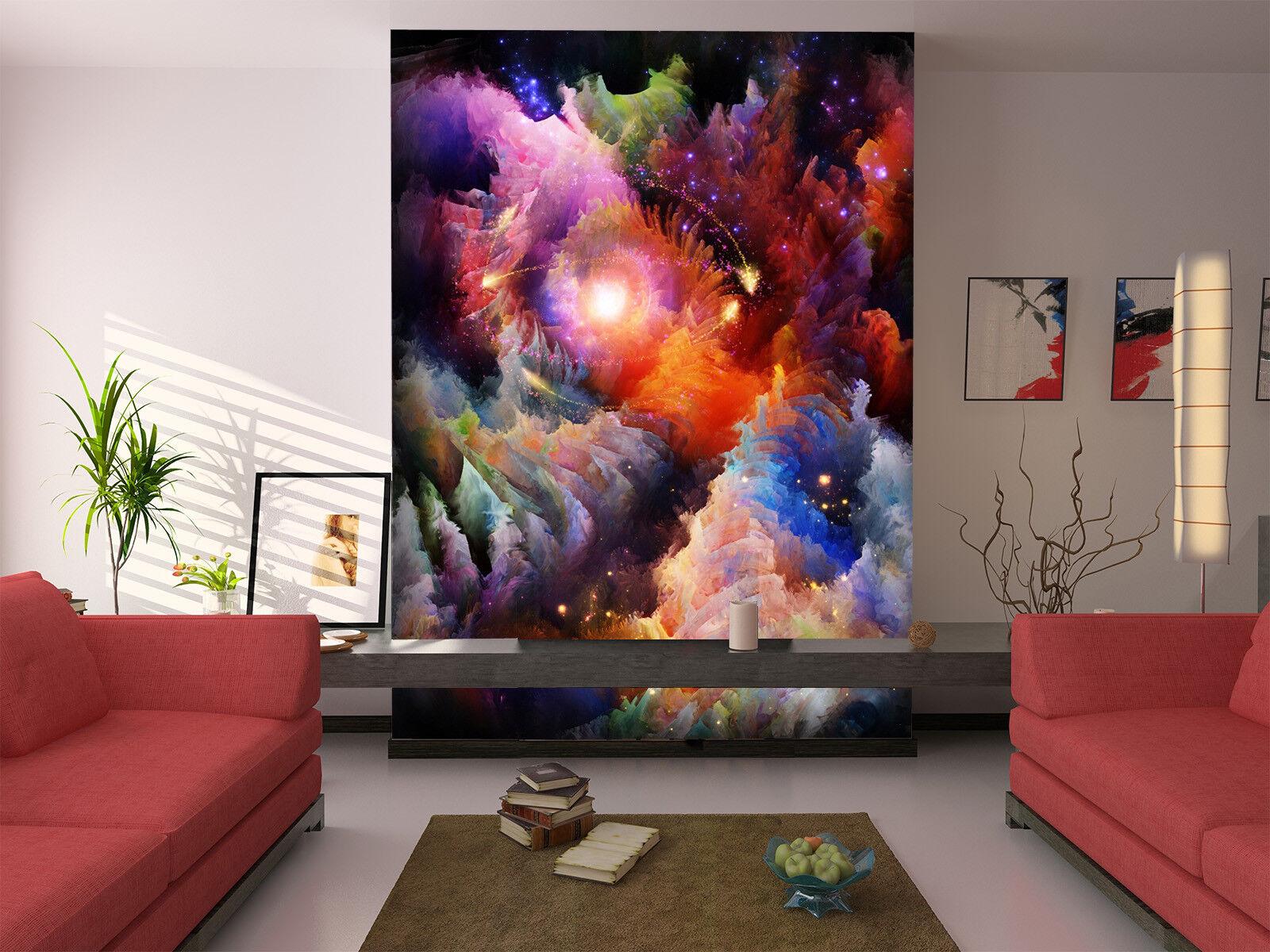 3D Farbeful Sky Clouds 827 Wallpaper Mural Paper Wall Print Wallpaper Murals UK