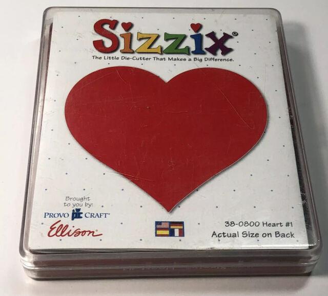 sizzix original red black cutting dies