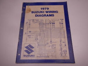 image is loading b-1979-suzuki-wiring-diagrams-gs-sp-ts-