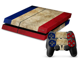 Sporting Sony Ps4 Playstation 4 Skin Design Aufkleber Schutzfolie Set France Motiv Video Game Accessories