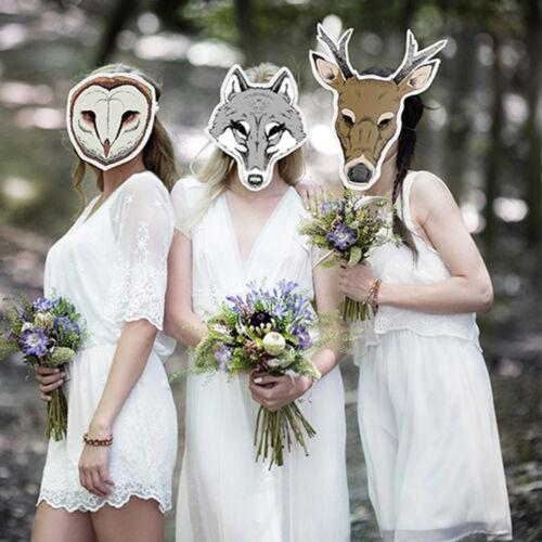 """Photo Booth /""""Maske Hirsch/"""" Props Hochzeit Foto Verkleidung Maske Kindermasken"""