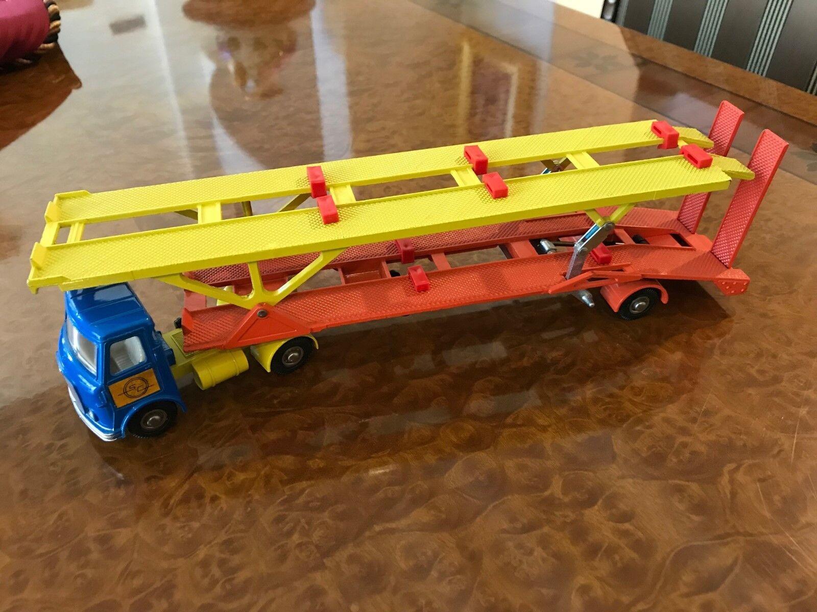 Vintage Dinky Toys SUPER MIB A.E.C. Hoynor Car Transporter No. 974