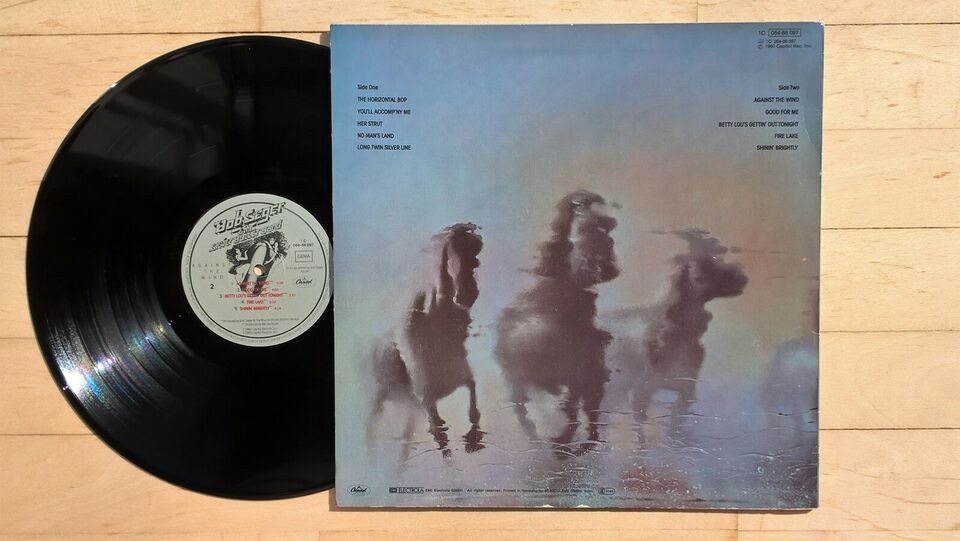 LP, Bob Seger & The Silver Bullet Band, Against The Wind
