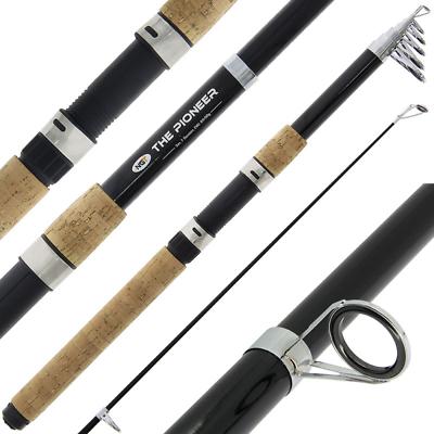 10ft Pioneer Telescopic Fishing Rod 3m Cork Handle Carp Travel Coarse Rod Modern En Elegant In Mode