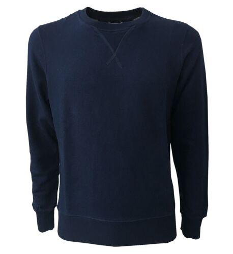 Felpa Vintage Uomo Slim Garzata Cotone Vestibilità 100 55 5Erwq4x0E