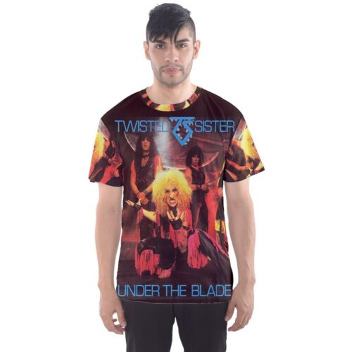 New TWISTED SISTER Rock Band Sublimation Sport Mesh tee T-Shirt S-5XL