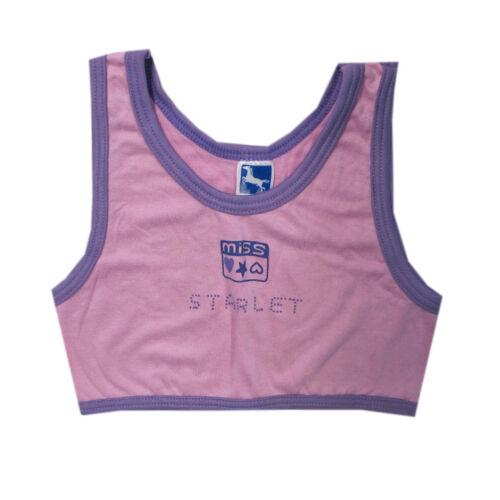 Blessing Unterwäsche Unterhemd Bustier Mädchen Pink Micromodal Gr.104,116,128