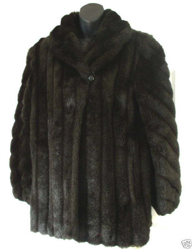 Monterey Fashion Wm Beautiful Faux Fur Coat 10 Must C