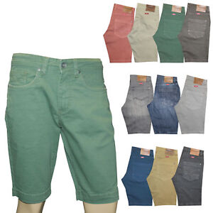 Hero-Herren-Denim-Bermuda-Stretch-Jeans-Hose-Short-Outdoorjeans