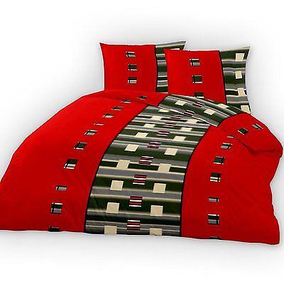 Bettwaren, -wäsche & Matratzen Haben Sie Einen Fragenden Verstand BettwÄsche 2 Teilig Microfaser 135x200 Cm Red Square Neu 2-teilig Neu Wohltuend FüR Das Sperma