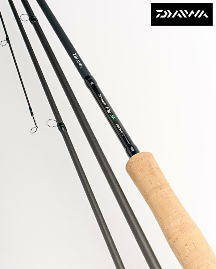 New Daiwa D Trout S4  Fly Fishing Rods - All Models Available  world famous sale online