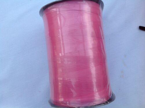 10 m x 15 mm Curling Ruban Cadeau Emballage Fleuriste Artisanat rose