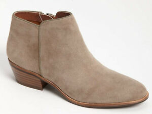 4da5b0956252b3 NEW Sam Edelman Womens Petty Chelsea Putty Suede Ankle Boot Size US ...