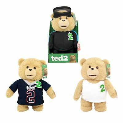 """Ted 2 Ted In Football Jersey Rated R 11/"""" Talking Plush"""
