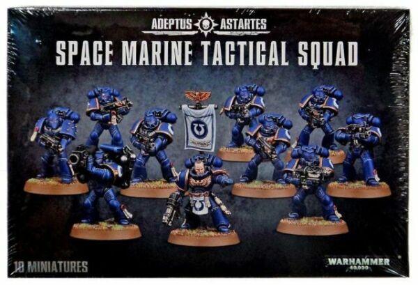 Space Marine Tactical Squad 10 x LEGS Adeptus Astartes 40K