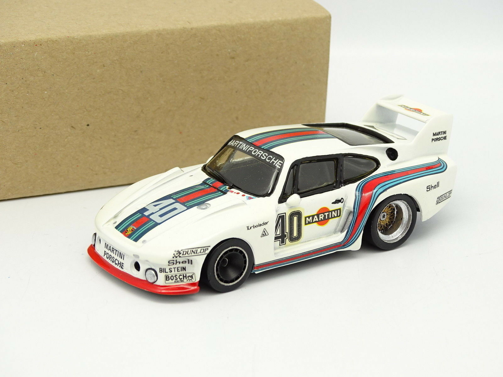 Oeste Minichamps Kit Montado Metal 1 43 - Porsche 935  2 Martini Hockenheim 1977