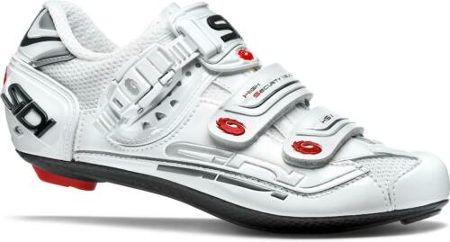 White Sidi Genius 7 Fit Womens Road Cycling Shoes
