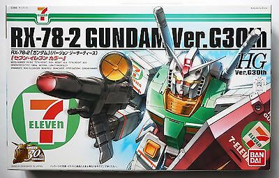 BANDAI HG 1/144 RX-78-2 Gundam ver.G30th 7-Eleven limited 2010 scale model kit