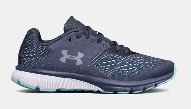 Under Armour Charged Rebel Women's Running Shoes - Blue/Grey
