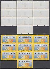 Bund ATM 4.1 TS1/VS 1 ** 2002 Postemblem 10 Werte kpl mit Zählnummern postfrisch