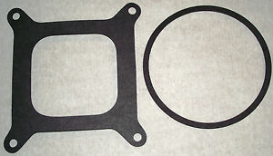 Holley-Edelbrock-carby-Open-hole-Base-amp-Air-filter-gaskets-Carburettor-carter